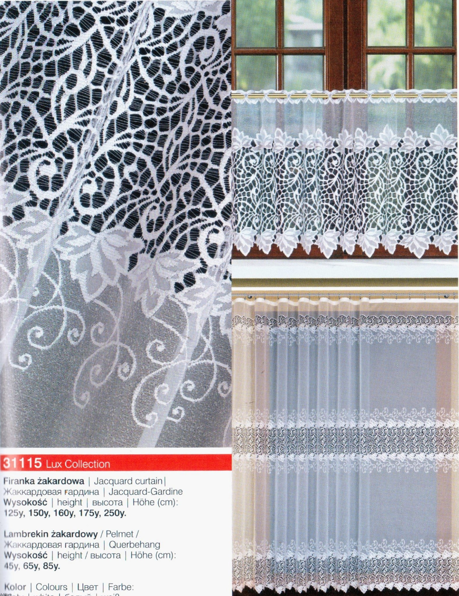 Firany Z Kalisza Lux Collection 31115